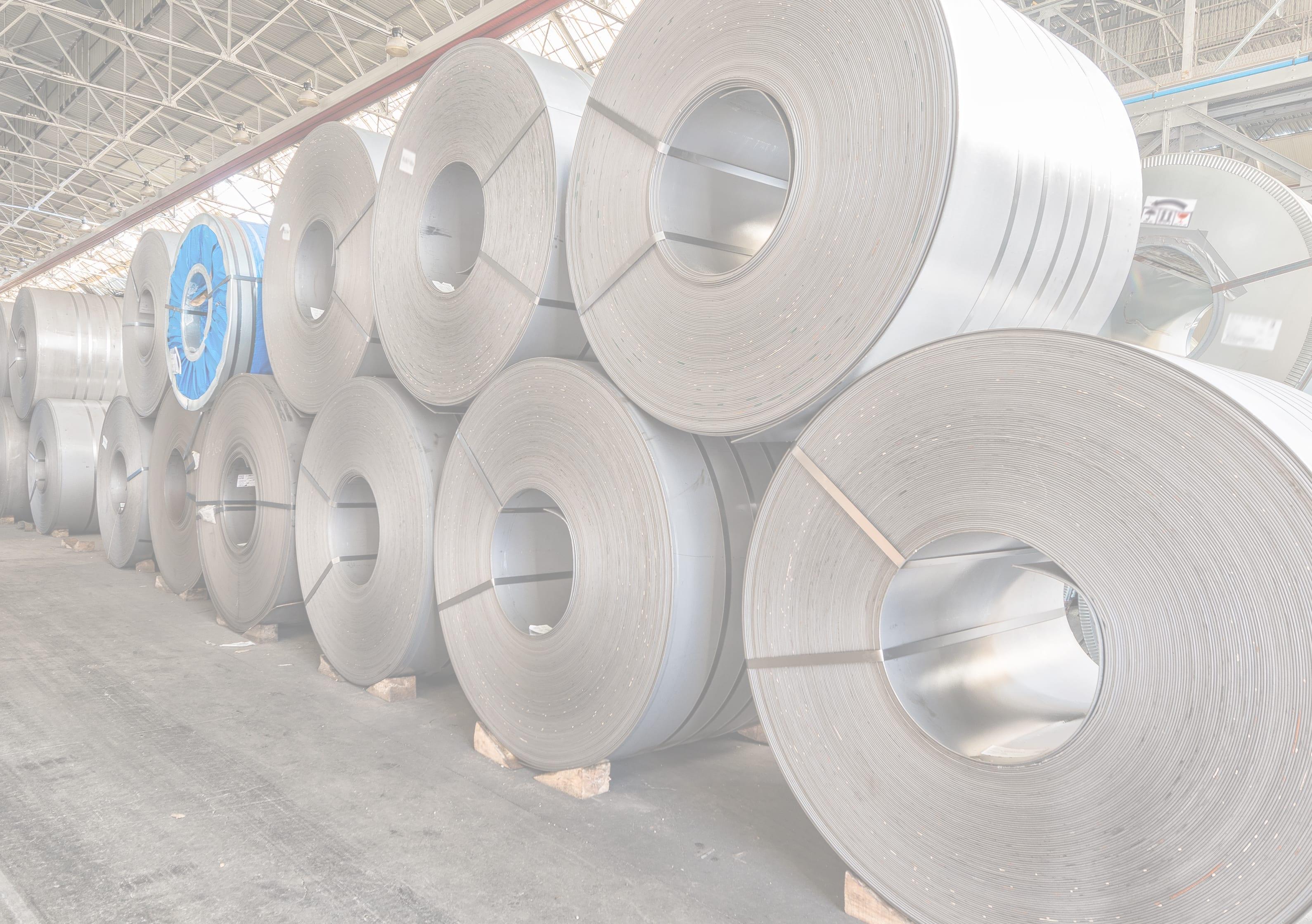 Sverdrup Steel coil stock