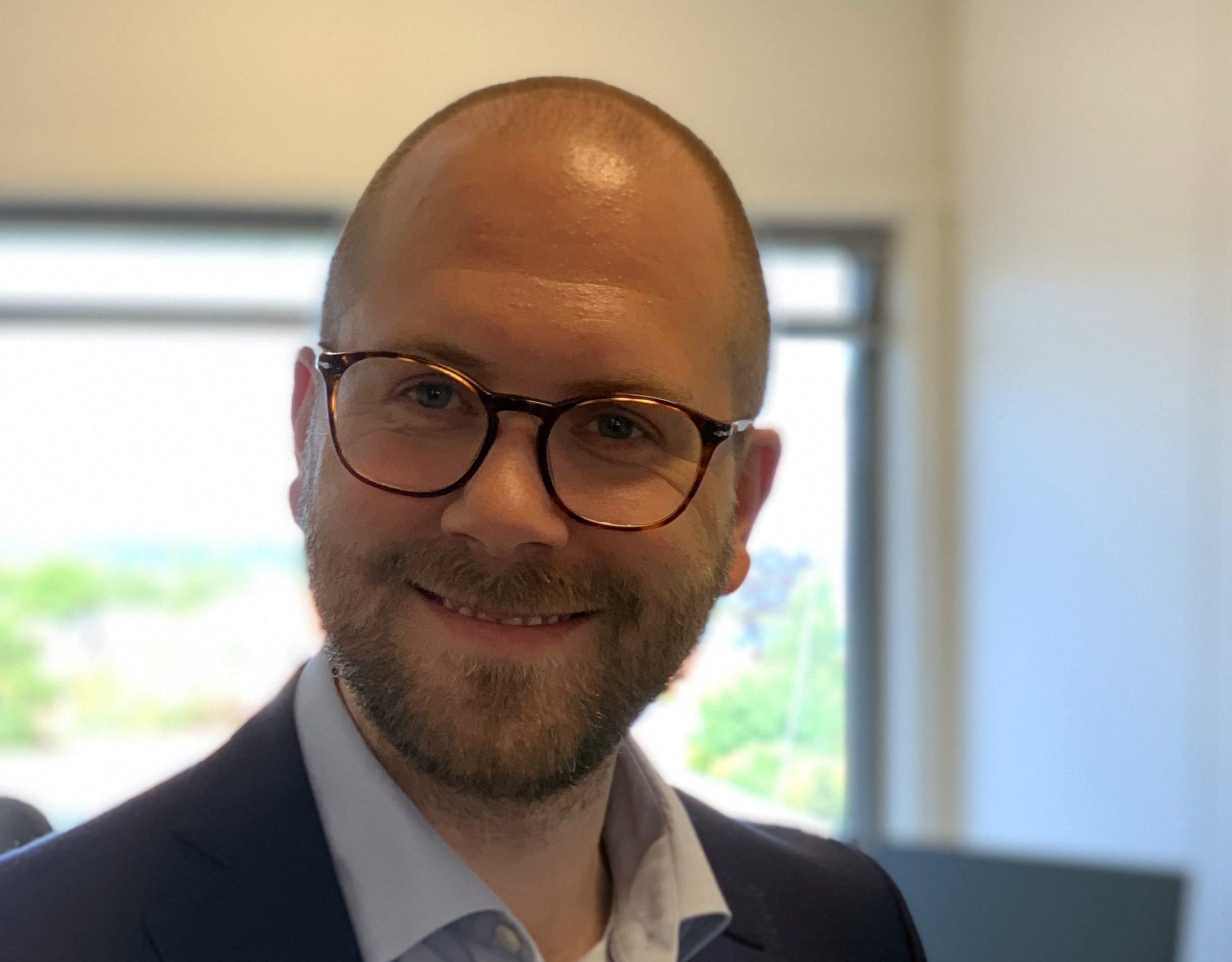 Sales Director Steffen Pettersen