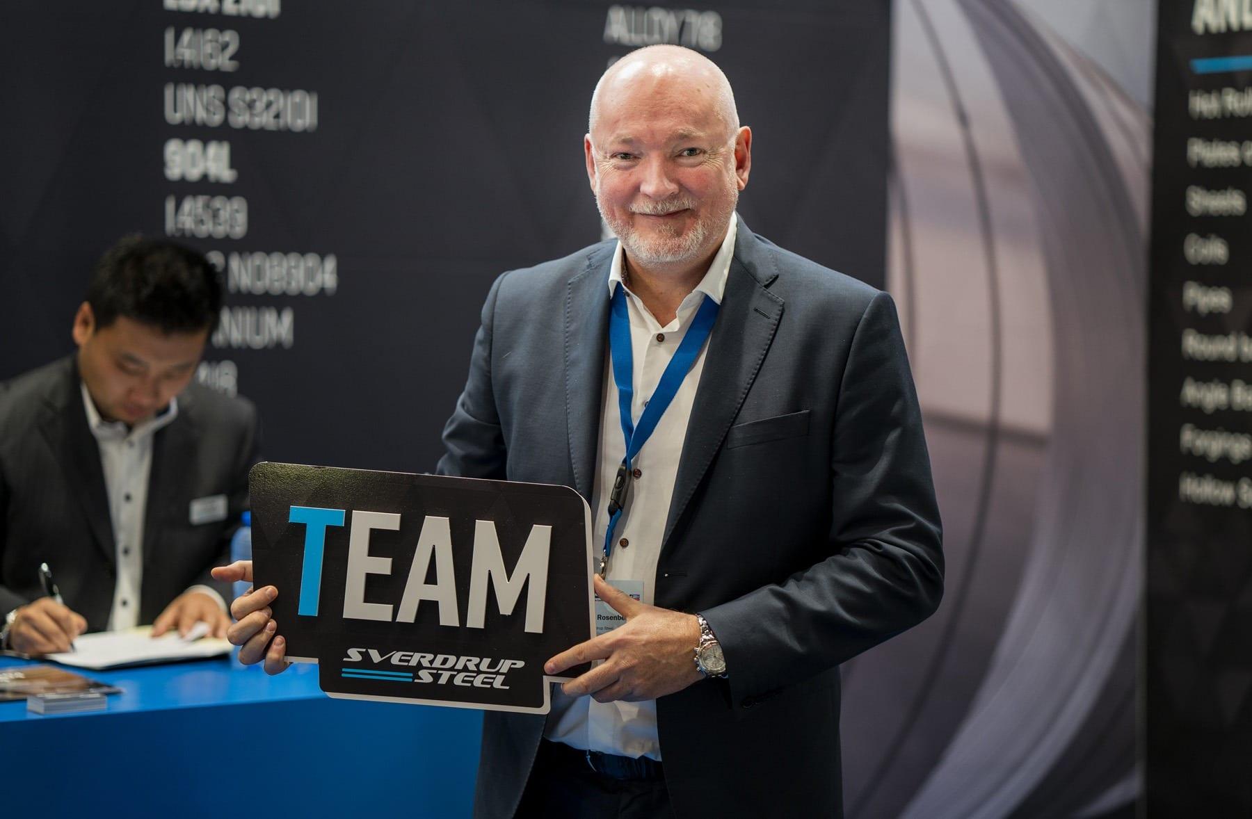 Sverdrup Steel CEO Kristian Rosenberg