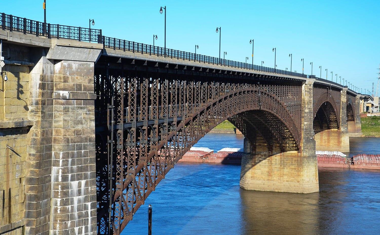 Steel Bridge Mississippi